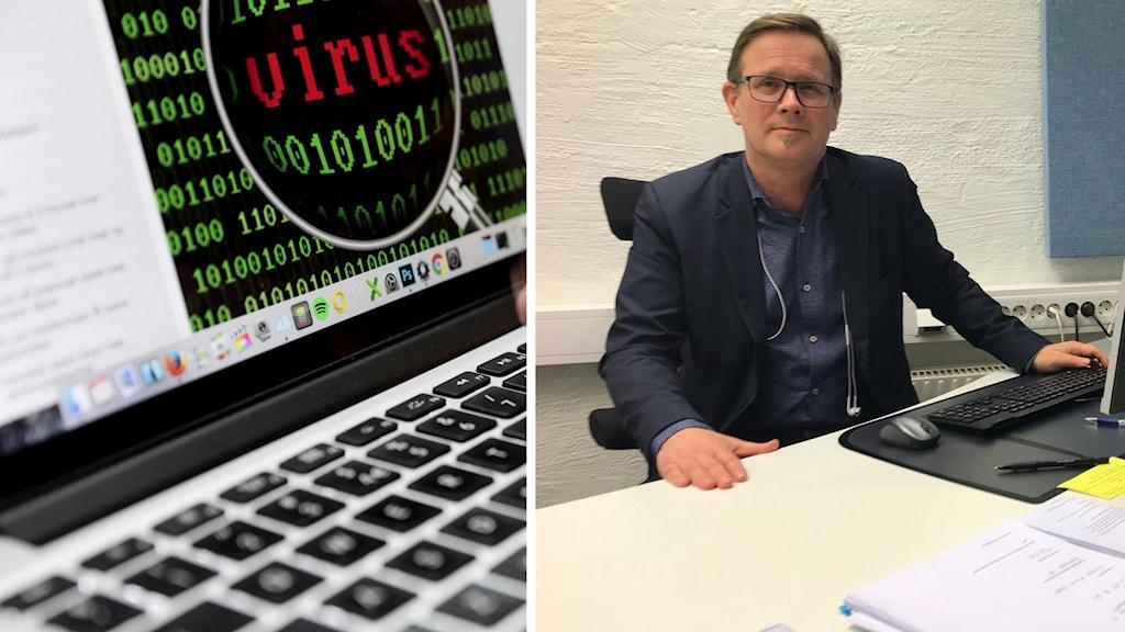 Datavirus och Henrik Halvorsen, Mjölby kommun