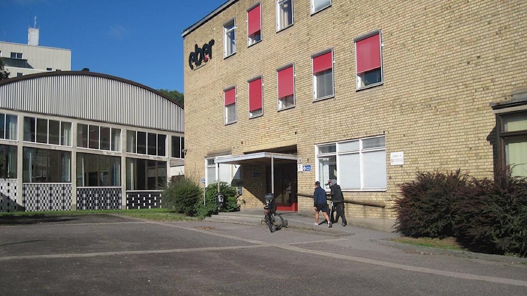 Entré till gymnasieskola. Foto: Sofia Strindvall/Sveriges Radio