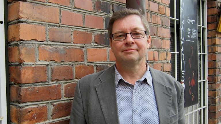 Ulf Thörn är regional teaterkonsulent foto:Maria Turdén/Sveriges Radio