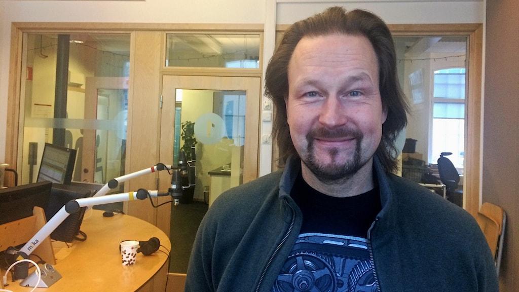 Professor Fredrik Nyström på universitetssjukhuset i Linköping.