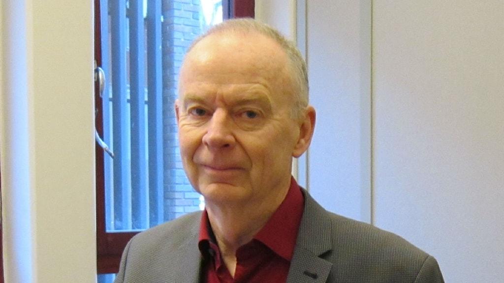 Anders Donlau vd på AB Göta kanalbolag. Foto: Raina Medelius/Sveriges Radio