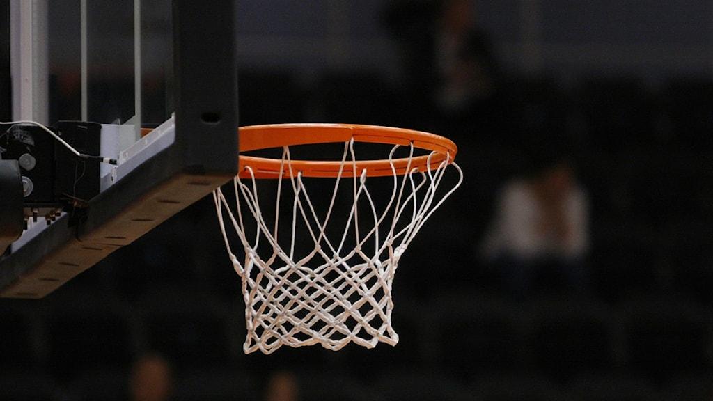 Basketkorg. Foto: Kim Hellström