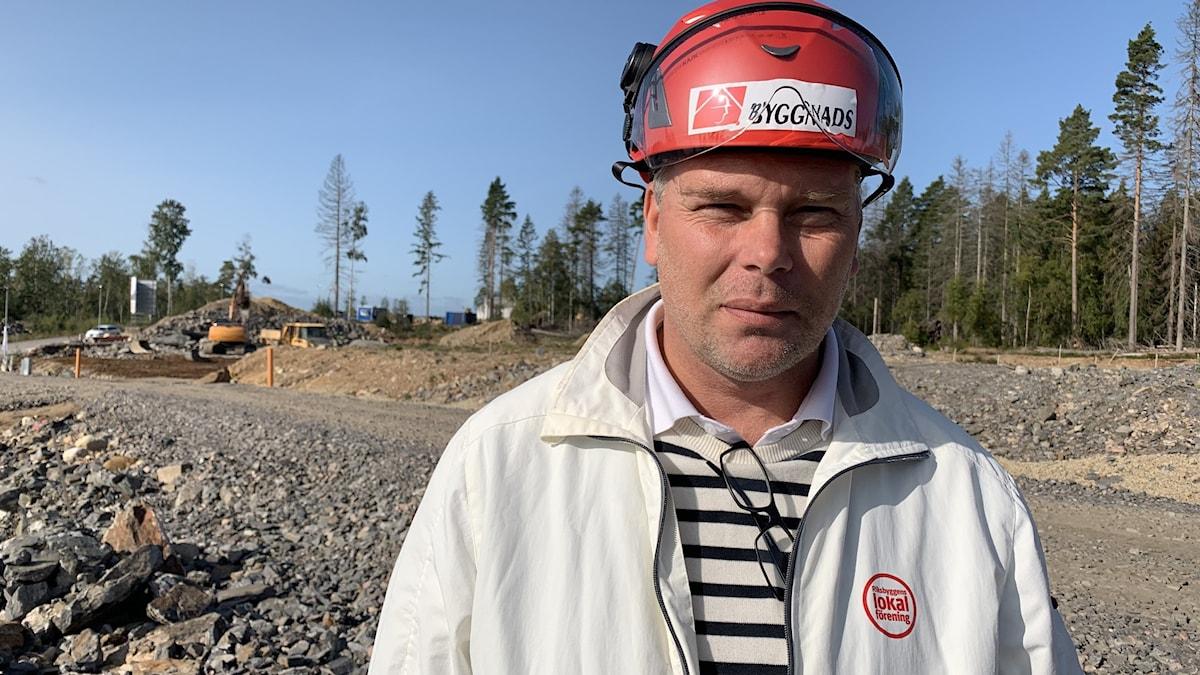 Magnus Cato, ordförande Byggnads Öst