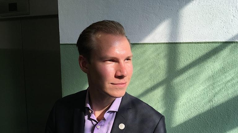 Markus Wiechel, riksdagsledamot för Sverigedemokraterna.