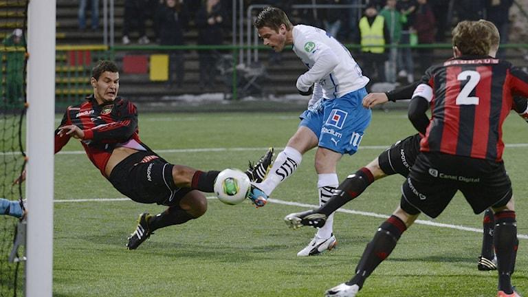 IFK-skott. Foto: