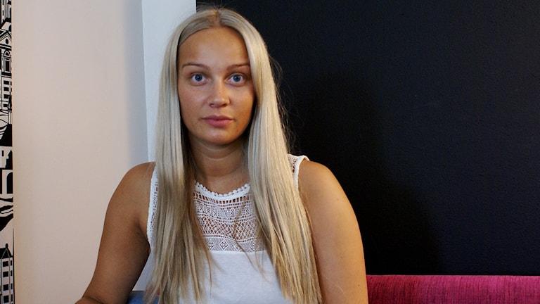 Karin Marklund framförde #Östgötahitten live.