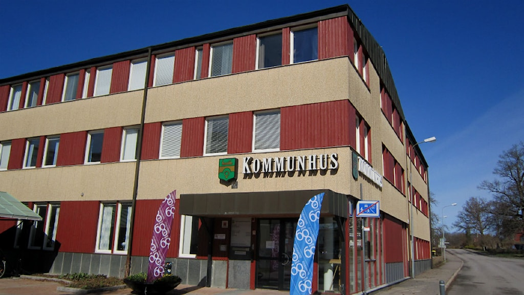 Åtvidabergs kommunhus våren 2013 foto:Maria Turdén/Sveriges Radio