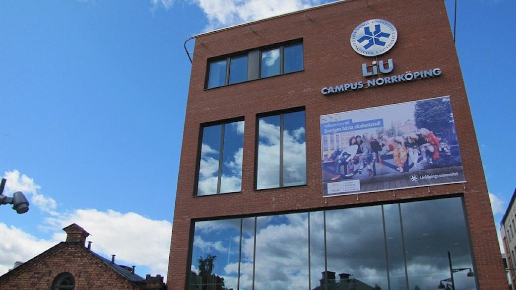 Linköpings Universitet Campus Norrköping. Foto: Sofia Strindvall/Sveriges Radio