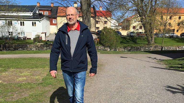 Gert Wahlbeck, Söderköpings kommun, provgår Hälsans stig.