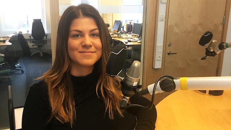 Sandra Hansen, från SPES, Rikförbundet för suicidprevention och efterlevandestöd.