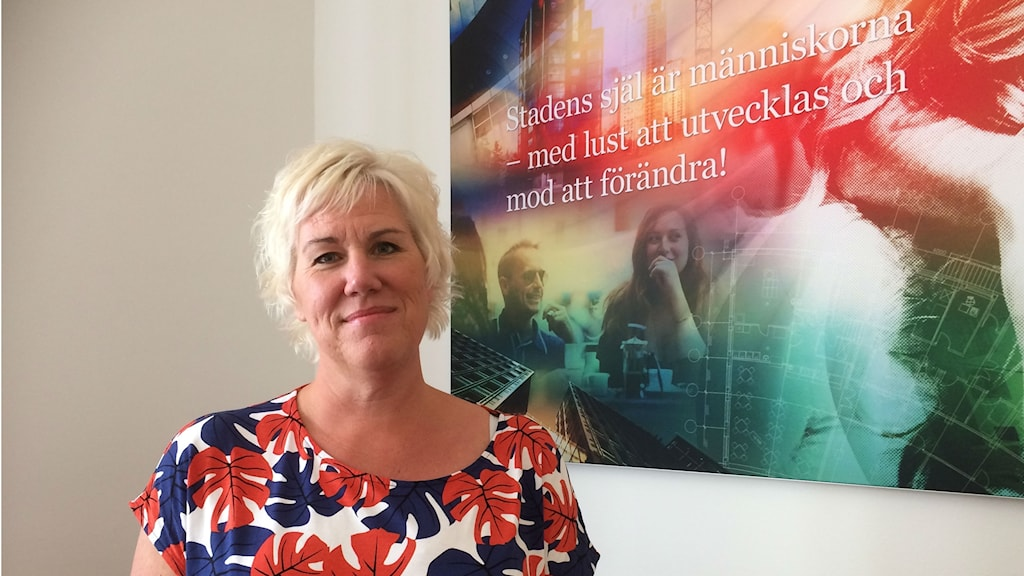Kommunstyrelsens ordförande Kristina Edlund (S).