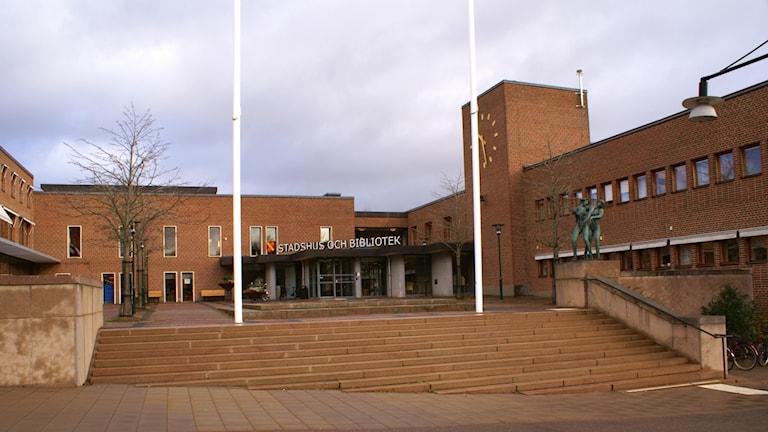 Stadshuset Mjölby kommun.