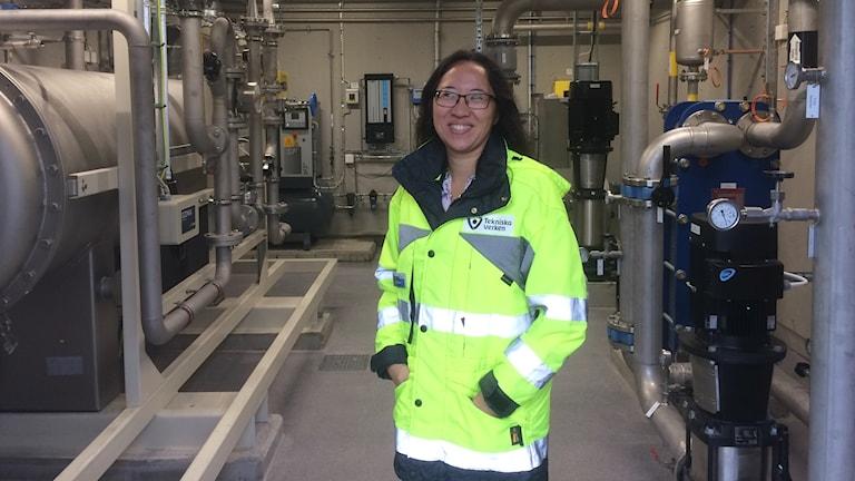 Anna Lövsén affärsområdeschef vatten och avlopp Tekniska verken