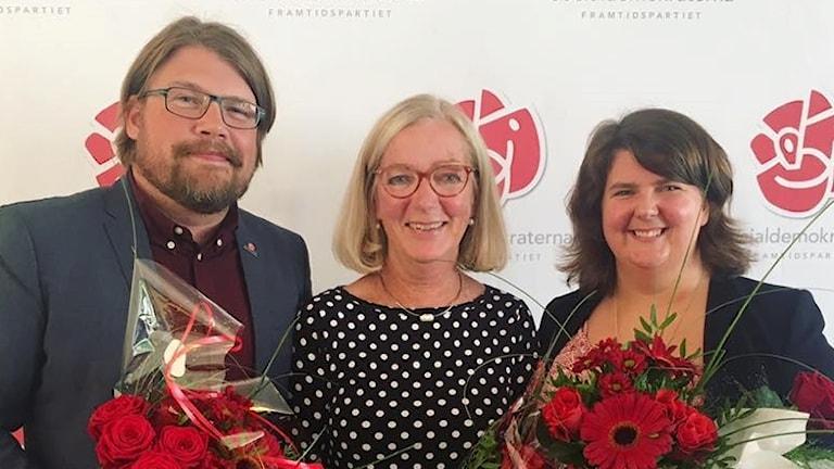 Anders Härnbro, Anna-Lena Sörenson och Kaisa Karro.