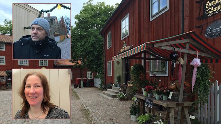 gamla Linköping till ett bostadsområde till ett tivoli finns med i potten. Cecilia Gyllenberg Bergfasth (MP), och Lars Vikinge (C). Arkivbilder: