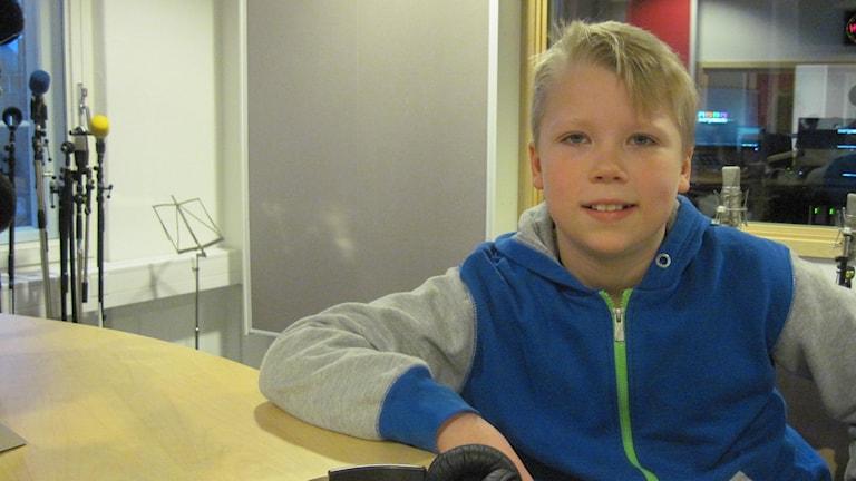 Elias Arvidsson, en av kandidaterna till Årets östgöte 2013. Foto: Lotta Karlsson, Sveriges Radio
