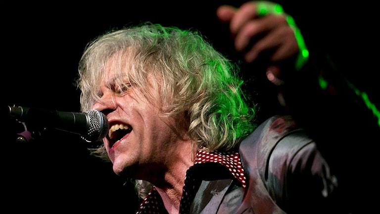 Bob Geldof i Boomtown Rats. Foto: Balazs Mohai/TT