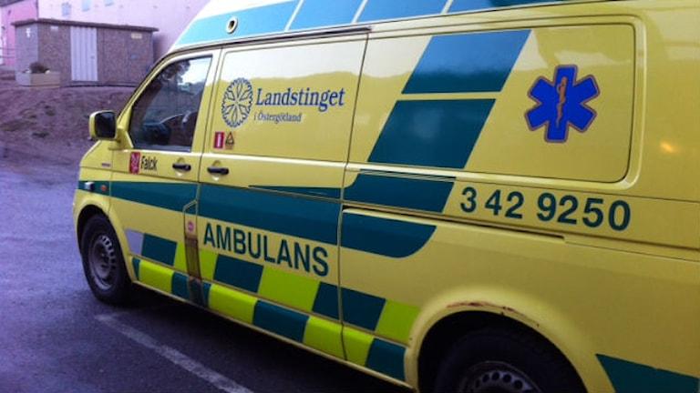 Ambuland.  Foto: Christina Turesson/Sveriges Radio