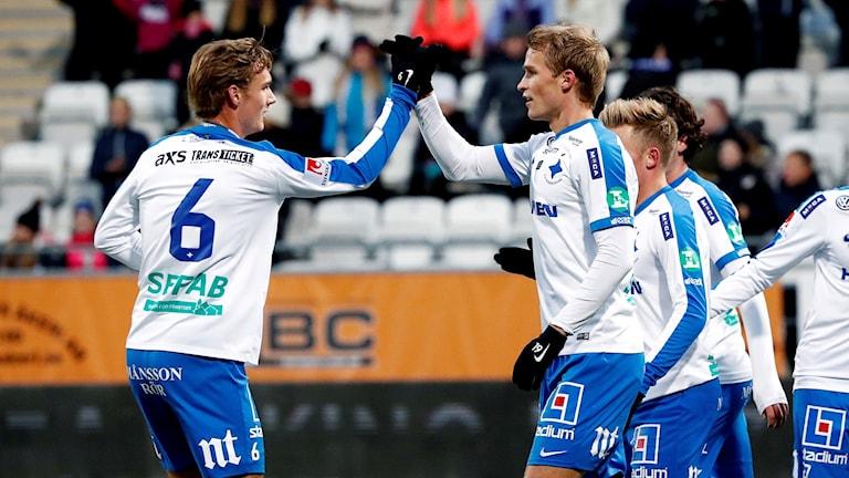 Linus Wahlkvist och Sebastian Andersson