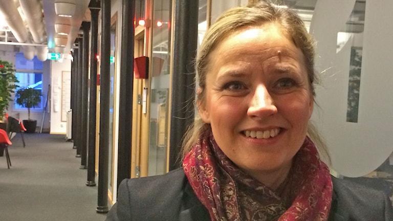 Docent Marie Löf, docent vid Karolinska Institutet och Linköpings universitet. Foto: Jessica Gredin/Sveriges Radio