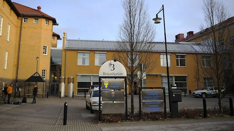 Linköpings tingsrätt. Foto: Per Larsson/TT