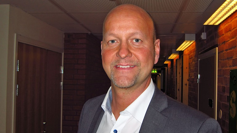 Magnus Oscarsson (KD). Foto: Johan Gustafsson/Sveriges Radio