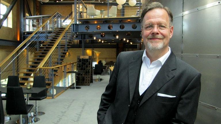 Nils Spangenberg vd och konstnärlig ledare för Vadstena-Akademien foto:Maria Turdén/Sveriges Radio