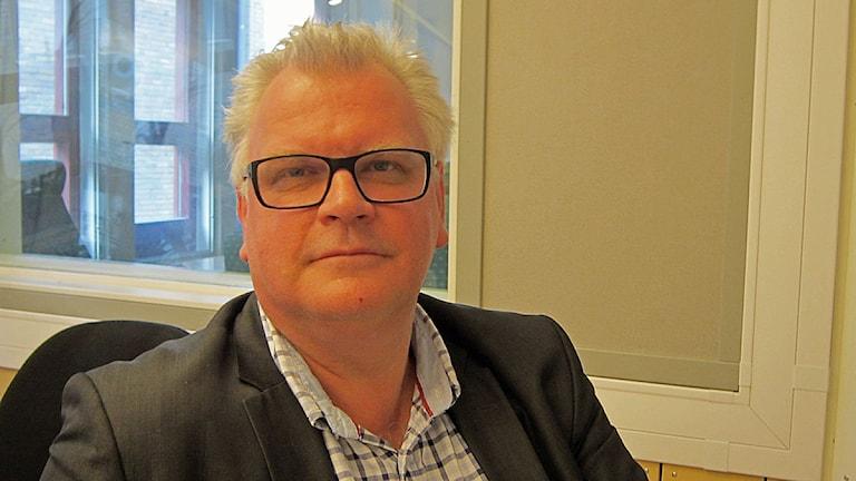 Paul Lindvall (M), kommunalråd i Linköping. Foto: Johan Gustafsson/Sveriges Radio