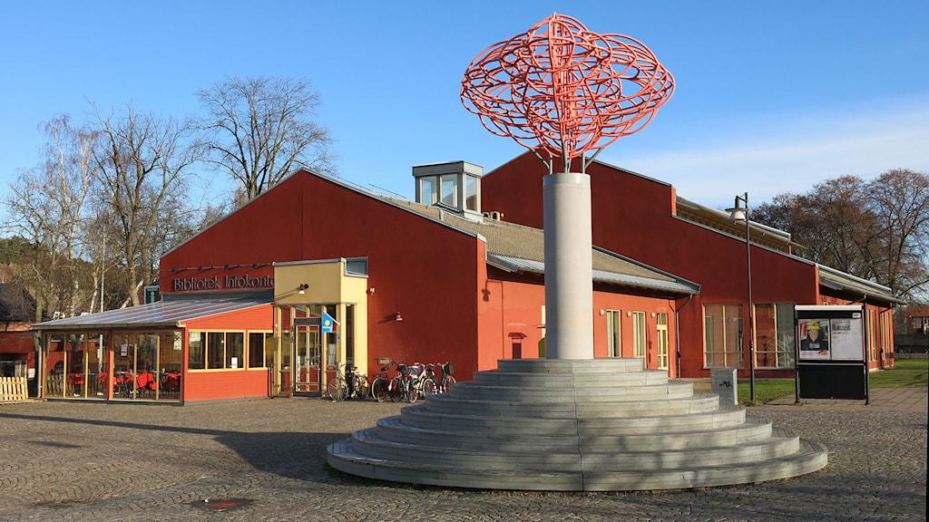 Söderköpings bibliotek Stinsen. Foto: