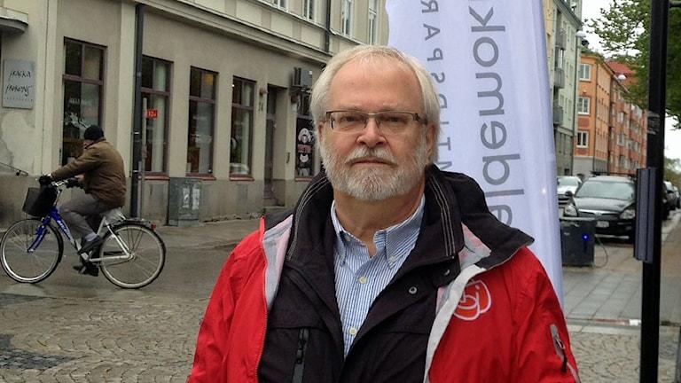 EU-parlamentarikern Göran Färm. Foto: Petter Ahnoff/Sveriges Radio