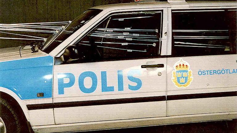 Polisens bilder ur förundersökningen angående polismorden i Malexander