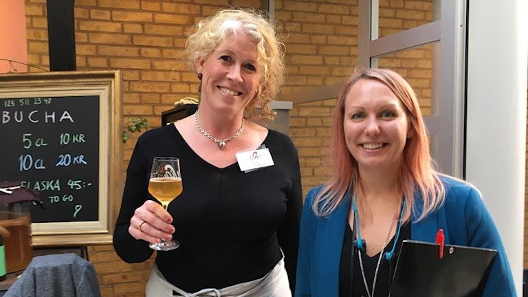 Camilla Boström och Emelie Oscarsson