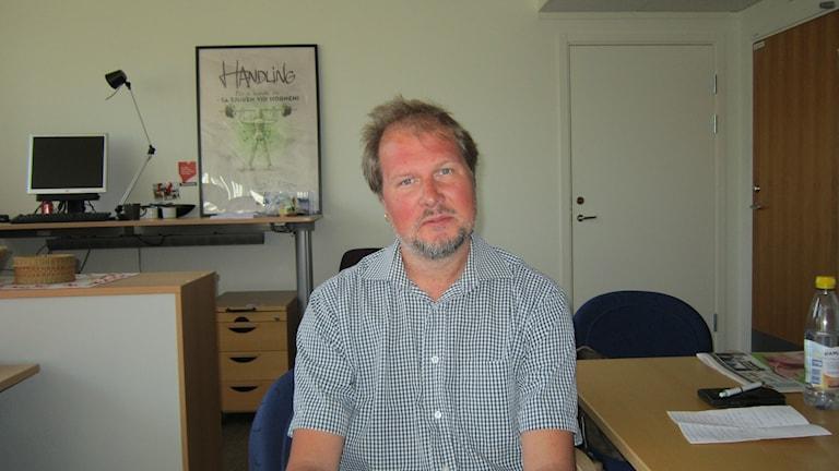 Stefan Carlsson (V) utbildningsråd i Finspång.