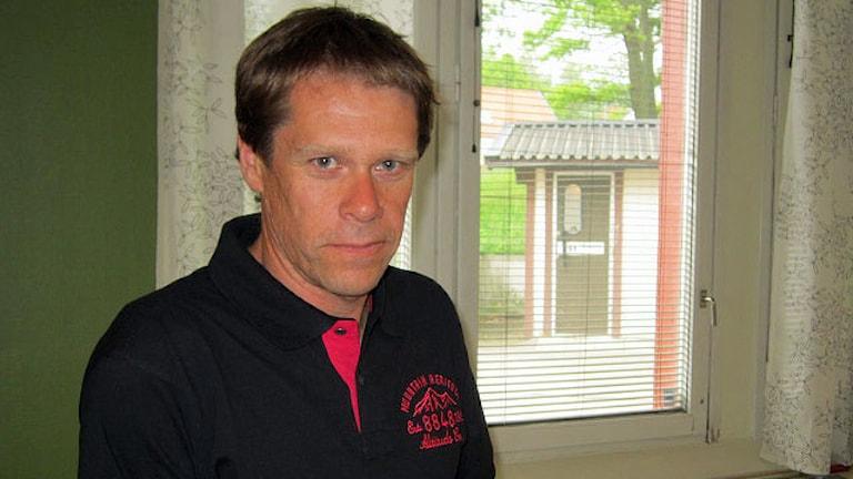 Andreas Capilla, kommunchef i Åtvidaberg. Foto: Johan Gustafsson/Sveriges Radio