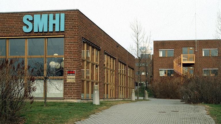 SMHI i Norrköping. Foto: Åke Erlandsson/SVT