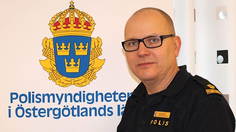 Thomas Agnevik, presstalesman, Polismyndigheten i Östergötlands län. Foto: Polismyndigheten i Östergötlands län