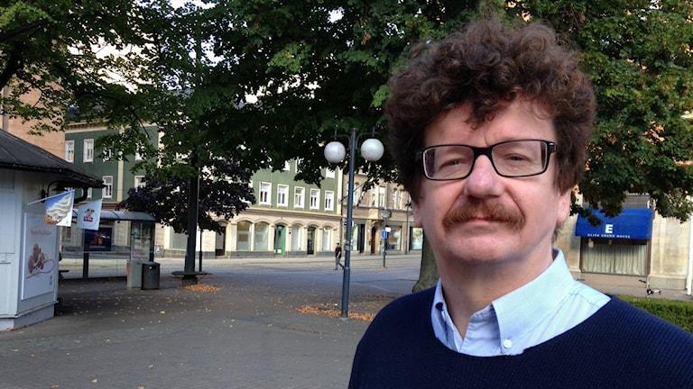 Kommunalrådet Lars Stjernkvist (S).Foto: Per Wistbo Nibell/Sveriges Radio.