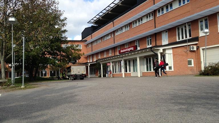 Vrinnevisjukhusets akut i Norrköping. Foto: Per Wistbo Nibell/Sveriges Radio