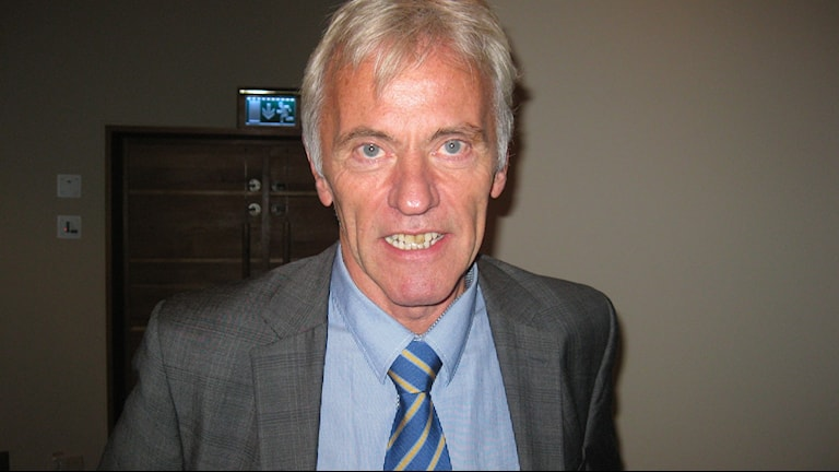 Reidar Svedahl, Liberalerna. Foto: Petter Ahnoff/Sveriges Radio