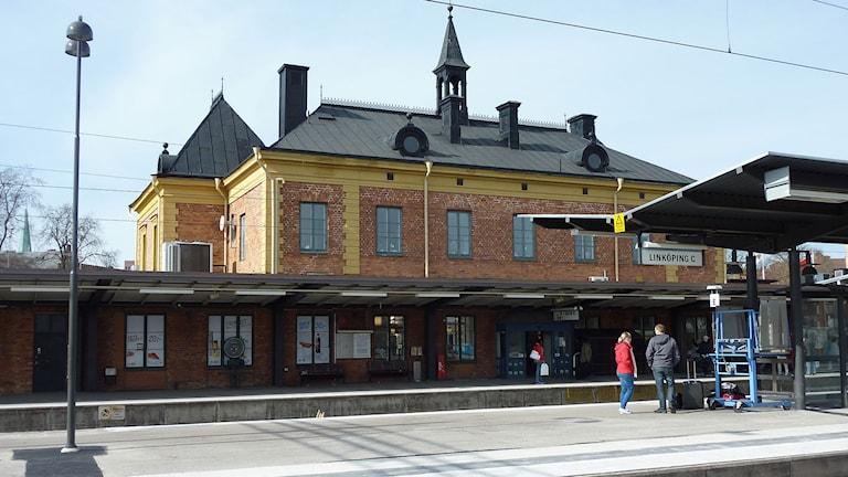 Stationshuset i Linköping. Foto: Nils Öberg (CC-BY-SA-3.0)