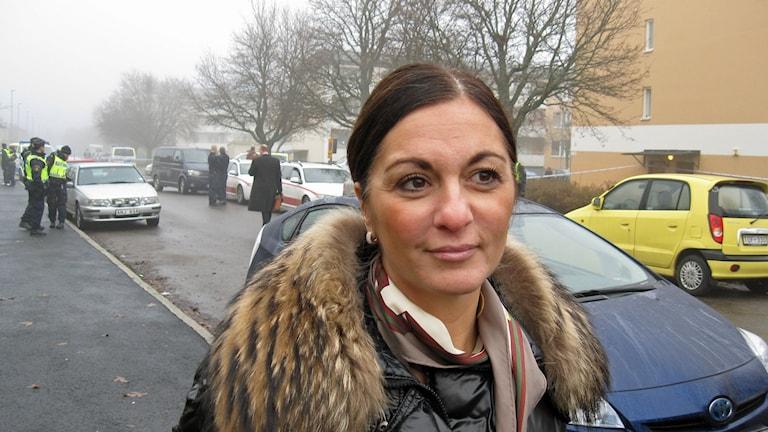 Målsägandebiträdet Elisabeth Massi Fritz.