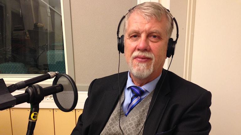 SKL:s laboratoriechef Tore Olsson. Foto: Jimmy Calmerberg/Sveriges Radio