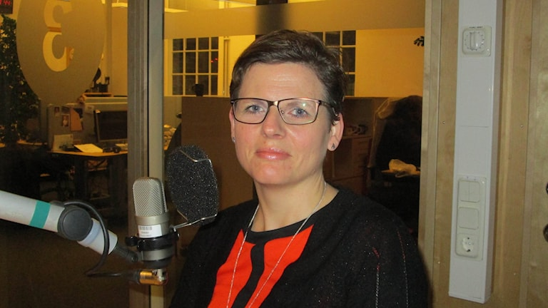 Helena Balthammar (S) - Borgmästare i Linköping. Foto Peter Bengtsson/Sveriges Radio