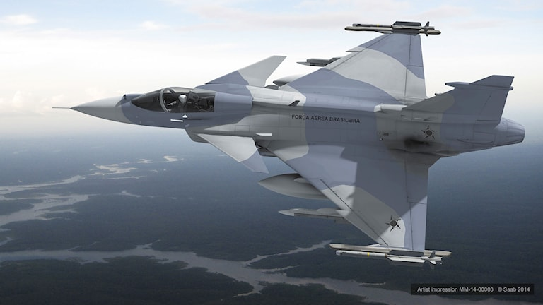 JAS Gripen NG. Illustration: Saab