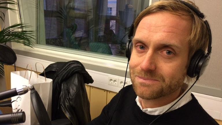 Martin Sjögren, tränare LFC. Foto: Sofie Lycksell/Sveriges Radio