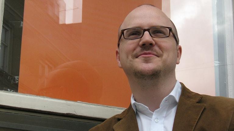 Folkpartiets länsordförande Mathias Sundin
