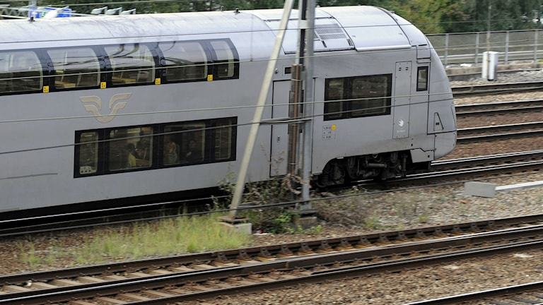 SJ:s dubbeldäckartåg. Foto: Bertil Ericson/TT.