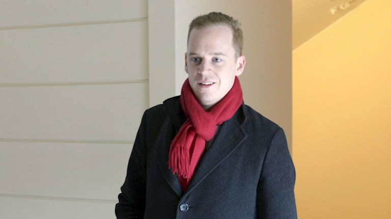 Gustav Kasselstrand. Foto: Bertil Enevåg Ericson/TT.