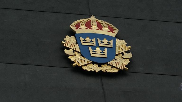 polis sköld P4 Östergötland Sveriges Radio