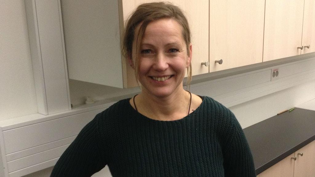 Marie Åkerlund, konstnär. Foto: Petter Ahnoff/ Sveriges Radio